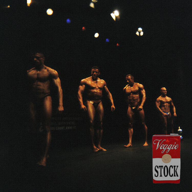 4 October 2008; Competitors on stage at the RIBBF (Republic of Ireland Body Building Federation) National Championships held in Limerick at the Millennium Theatre, LIT, Ireland.