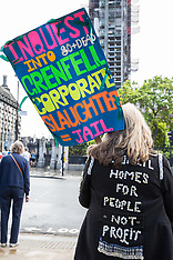2019-06-06 Justice4Grenfell protest outside Parliament