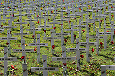 Christchurch-Field of Remembrance those who were lost in war