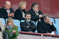 Roy Keane looks on from the stand - Mandatory byline: Rogan Thomson/JMP - 13/03/2016 - FOOTBALL - Villa Park Stadium - Birmingham, England - Aston Villa v Tottenham Hotspur - Barclays Premier League.