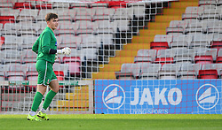 Lincoln City's Regan Start<br /> <br /> Lincoln City under 18s Vs Leicester City under 18s at Sincil Bank, Lincoln.<br /> <br /> Picture: Chris Vaughan/Chris Vaughan Photography<br /> <br /> Date: July 28, 2016