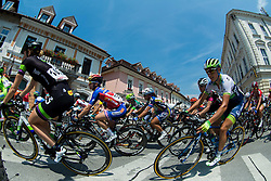 Floortje Mackaij (NED) of Team Liv-Plantur and Lizzie Williams (AUS) of Orica - Ais during the Stage 1 (102,5 km) from Kamnik to Ljubljana at 26th Giro Rosa 2015 Women cycling race, on July 4, 2015 in Kamnik,  Slovenia. Photo by Vid Ponikvar / Sportida