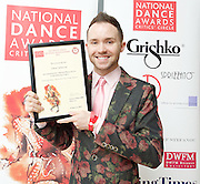 The Critics' Circle National Dance Awards 2016 <br /> at the Lilian Baylis Studio, Sadler's Wells, London, Great Britain <br /> <br /> 6th February 2017 <br /> <br /> Chase Johnsey<br /> WINNER <br /> Dancing Times Award for Best Male dancer <br />  <br /> <br /> Photograph by Elliott Franks <br /> Image licensed to Elliott Franks Photography Services 5th January 2018 - News that on New Year's Day, the dancer shared a video on YouTube announcing his resignation from the all-male troupe Les Ballets Trockadero de Monte Carlo giving his reasons as the negative way he was treated by the company after announcing his intension to 'transition' (from male to female).