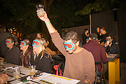 TBA:Eats Blind Tasting Bingo, Ned Ludd at The WORKS<br /> 09/11/12 at Washington High School<br /> 2012 Time-Based Art Festival, PICA<br /> Photo by Shawn Linehan <br /> Courtesy of Portland Institute for Contemporary Art.