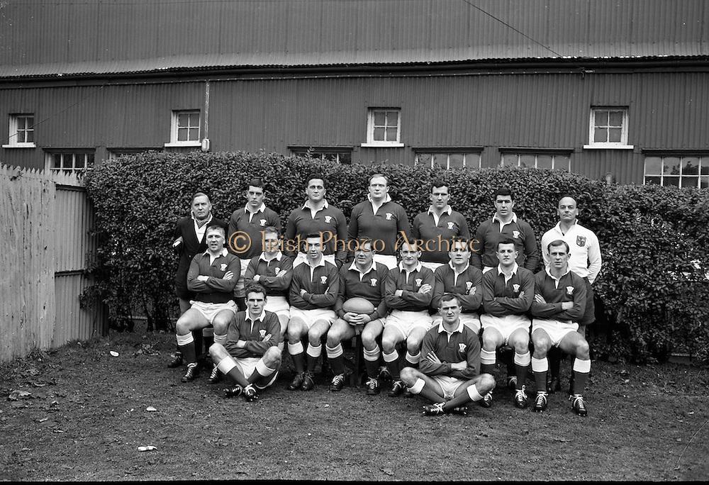 Rugby International, Ireland v Wales, Lansdowne Road, Dublin.<br /> 17.11.1962