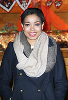 LONDON - NOVEMBER 22: Dionne Bromfield attended the opening night of 'Hyde Park Winter Wonderland' in Hyde Park, London, UK. November 22, 2012. (Photo by Richard Goldschmidt)