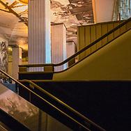 The lobby of 30 Rockefeller Center