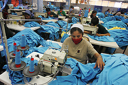 Ametex, Bolivia's largest employer, has 2 factories in La Paz and 3 in El Alto.  This textile company provides products to Polo Ralph Lauren, Abercrombie and Fitch and Express among others. El Alto is a largely indigenous town in Bolivia that is generally thought of as the Bolivian center  for anti-privatization and free trade sentiment, but industry benefitting from these very things are vital to El Alto.  Workers travel outside of their town, crossing road blockades on foot if necessary, to arrive to factories that can be far away. Industry and free trade is becoming more important to this politically charged town, whose protests have led to the removal of a president and foreign water company lately. Without the presence of private companies El Alto would be even more impoverished than it already is, bringing to a head the towns presumed nationalistic identity and its very real reliance on private industry.