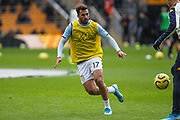 Mahmoud Hassan of Aston Villa during the Premier League match between Wolverhampton Wanderers and Aston Villa at Molineux, Wolverhampton, England on 10 November 2019.