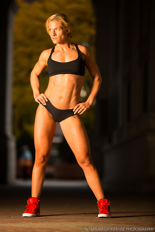 Sarah Koste Figure Competitor New York City location fitness photography