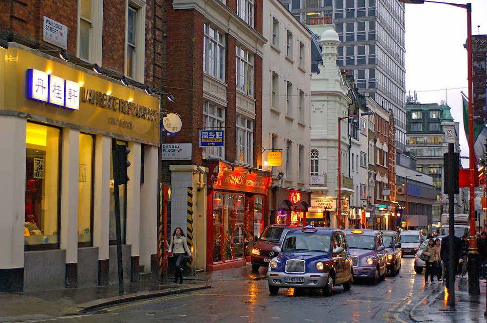 Wardour Street, Soho, London, Great Britain, UK