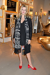 GRETA BELLAMACINA at the PAD London 2015 VIP evening held in the PAD Pavilion, Berkeley Square, London on 12th October 2015.