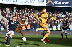 Glenn Murray of Brighton and Hove Albion flicks the ball towards goal - Mandatory by-line: Arron Gent/JMP - 17/03/2019 - FOOTBALL - The Den - London, England - Millwall v Brighton and Hove Albion - Emirates FA Cup Quarter Final