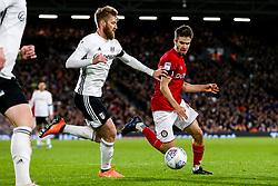 Adam Nagy of Bristol City is challenged by Tim Ream of Fulham - Rogan/JMP - 07/12/2019 - Craven Cottage - London, England - Fulham v Bristol City - Sky Bet Championship.