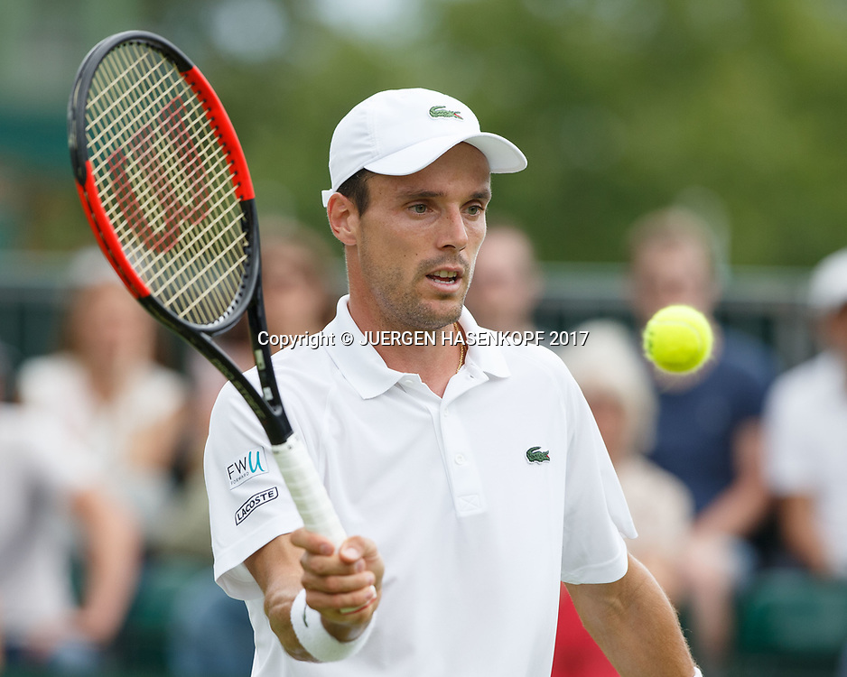ROBERTO BAUTISTA AGUT (ESP)<br /> <br /> Tennis - Wimbledon 2017 - Grand Slam ITF / ATP / WTA -  AELTC - London -  - Great Britain  - 3 July 2017.