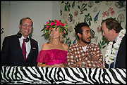 PAUL SEVIGNY; HOLLY DUNLOP; LUCIEN SMITH;, Sotheby's Frieze week party. New Bond St. London. 15 October 2014.