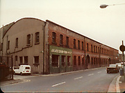 Old Dublin Amature Photos July 1983 WITH, Broadstone House, Steps, North Kings St, Mountjoy, St, Convent, Cullens 53, Whiskey Still, Kings Inn, RENAULT 4 VAN, CAR, James Crean and Sons Ltd,