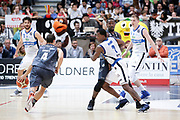 Lee Moore, Aaron Craft<br /> Dolomiti Energia Aquila Basket Trento - Germani Basket Brescia Leonessa<br /> Lega Basket Serie A 2016/2017<br /> PalaTrento 23/04//2017<br /> Foto Ciamillo-Castoria / M. Brondi
