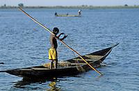 Mali - Région de Segou - Segoukoro - Ancien royaume Bambara - Le fleuve Niger