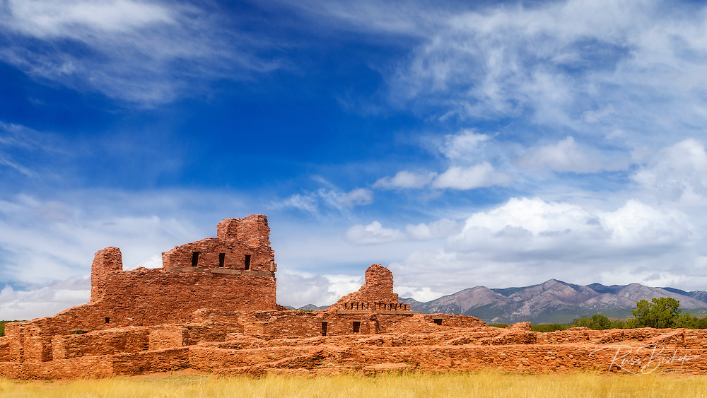 Abo Ruins, Salinas Pueblo Missions National Monument., New Mexico, USA