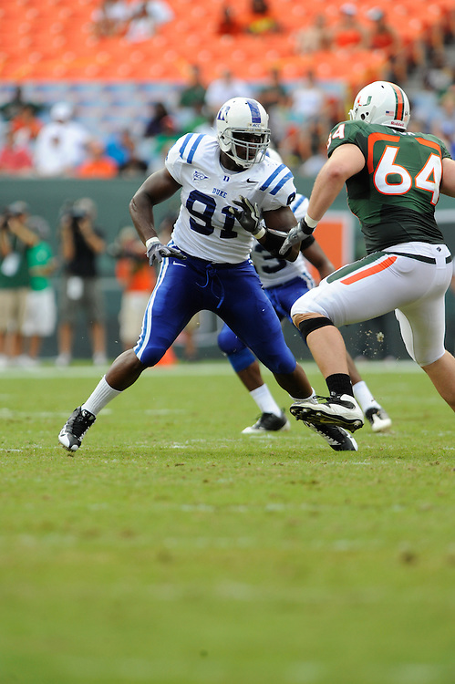 2009 Duke Blue Devils Football @ MIami