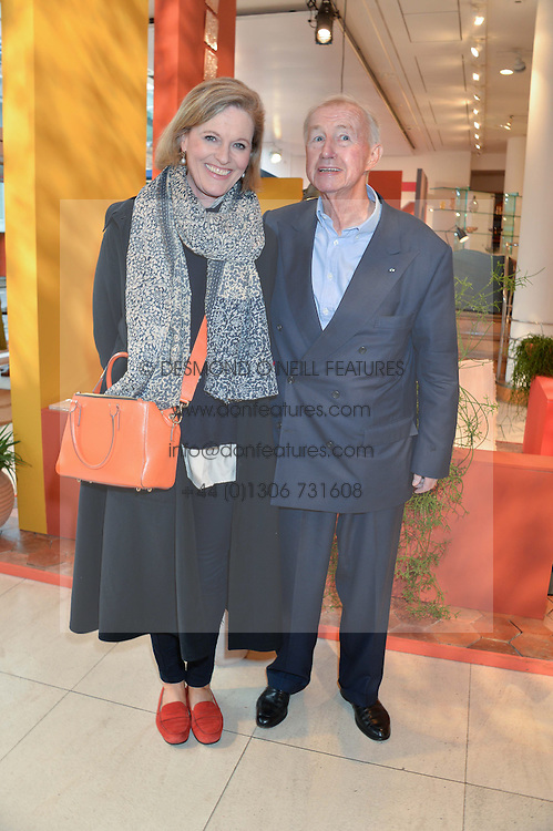 SIR TERENCE & LADY CONRAN at the launch of A Season In France hosted by Jasper Conran at The Conran Shop, 81 Fulham Road, London on 1st May 2014.
