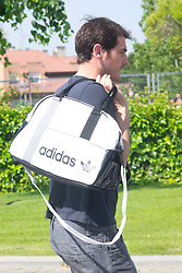 01.06.2012, Ciudad del Futbol, Madrid, ESP, UEFA EURO, Trainingscamp, Spanien, Rueckreise nach dem Trainingslager in Schruns im Vorarlberger Montafon, im Bild Iker Casillas // during Arrival of Spanish National Footballteam // after UEFA EURO 2012 preparation camp in Schruns, Austria at Ciudad del Futbol, Madrid, Spain on 2012/06/01. EXPA Pictures © 2012, PhotoCredit: EXPA/ Alterphotos/ Marta Gonzalez..***** ATTENTION - OUT OF ESP and SUI *****
