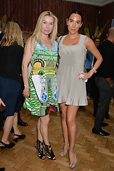 Left to right, PIPPA VOSPER and ALEX MEYERS at a cocktail reception to celebrate the launch of the Bicester Village the British Designer's Collective 2014 held at the The Keeper's House, Royal Academy of Art, Piccadilly, London on 20th May 2014.