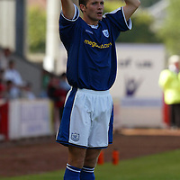 Jordan Tait, St Johnstone...07.08.04<br /><br />Picture by Graeme Hart.<br />Copyright Perthshire Picture Agency<br />Tel: 01738 623350  Mobile: 07990 594431