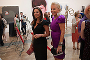 ANNE-MARIE GRAFF; EVA O'NEILL, Royal Academy of Arts Summer Exhibition Preview Party 2011. Royal Academy. Piccadilly. London. 2 June <br /> <br />  , -DO NOT ARCHIVE-© Copyright Photograph by Dafydd Jones. 248 Clapham Rd. London SW9 0PZ. Tel 0207 820 0771. www.dafjones.com.