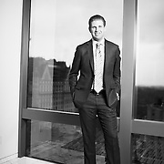 Eric Trump photographed at Trump Plaza 725 5th Ave. New York, NY, December 22, 2015. <br /> Yvonne Albinowski/For New York Observer
