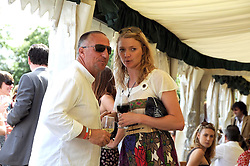 SIR IAN BOTHAM and JODIE KIDD at the IWC Laureus Polo Cup Day 2008 held at Ham Polo Club, Surrey on 22nd June 2008.<br /><br />NON EXCLUSIVE - WORLD RIGHTS