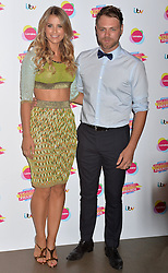 Pictured are Brian McFadden and Vogue Williams.<br /> Lorraine's High Street Fashion Awards 2014 at Vinopolis, London, UK.<br /> Wednesday, 21st May 2014. Picture by Ben Stevens / i-Images