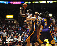 "Ole Miss' Jarvis Summers (32) at the C.M. ""Tad"" Smith Coliseum in Oxford, Miss. on Saturday, February 25, 2012. (AP Photo/Oxford Eagle, Bruce Newman)..."