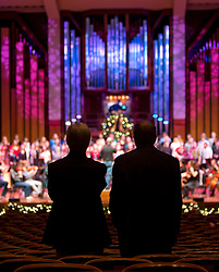 A PLU Christmas, Benaroya Hall in Seattle, Monday, Dec. 3, 2012. (Photo/John Froschauer)