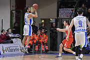 DESCRIZIONE : Eurocup 2015-2016 Last 32 Group N Dinamo Banco di Sardegna Sassari - Szolnoki Olaj<br /> GIOCATORE : Rok Stipcevic<br /> CATEGORIA : Tiro Tre Punti Three Point Controcampo<br /> SQUADRA : Dinamo Banco di Sardegna Sassari<br /> EVENTO : Eurocup 2015-2016<br /> GARA : Dinamo Banco di Sardegna Sassari - Szolnoki Olaj<br /> DATA : 03/02/2016<br /> SPORT : Pallacanestro <br /> AUTORE : Agenzia Ciamillo-Castoria/L.Canu