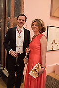 GEORGE OSBORNE; FRANCES OSBORNE, RA Annual dinner 2018. Piccadilly, 5 June 2018.