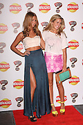 19.JANUARY.2012. LONDON<br /> <br /> MILLIE MACKINTOSH AND CAGGIE DUNLOP ATTENDING THE LAUNCH PARTY FOR WALKERS NEW MYSTERY FLAVOUR CAMPAIGN HELD AT ROAST, BOROUGH MARKET IN LONDON<br /> <br /> BYLINE: EDBIMAGEARCHIVE.COM<br /> <br /> *THIS IMAGE IS STRICTLY FOR UK NEWSPAPERS AND MAGAZINES ONLY*<br /> *FOR WORLD WIDE SALES AND WEB USE PLEASE CONTACT EDBIMAGEARCHIVE - 0208 954 5968*