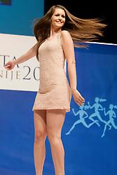 Anja Kamericki during event Miss Sports of Slovenia 2013, on April 20, 2013, in Festivalna dvorana, Ljubljana, Slovenia. (Photo by Urban Urbanc / Sportida.com)
