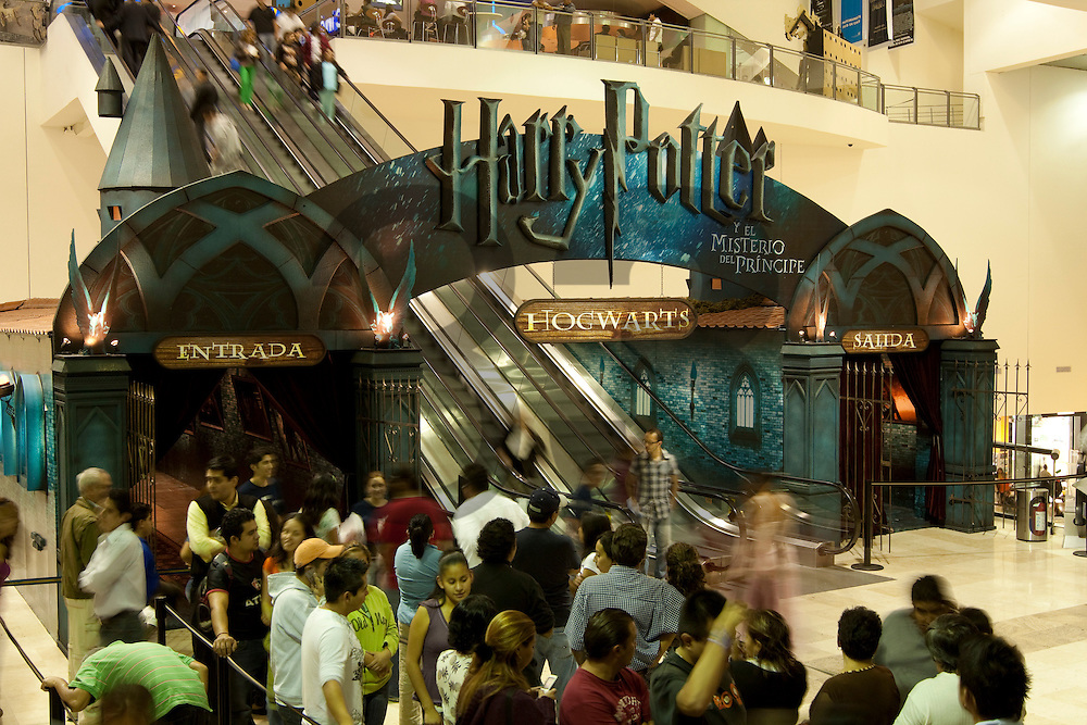 Harry Potter Museum, publicity for movie premiere