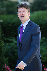 Downing Street, London, July 19th 2016. Communities Secretary Greg Clark arrives at the first full cabinet meeting since Prime Minister Theresa May took office.