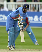 .24/06/2002.Sport - Cricket - .One day game 50 overs - Kent CC vs India.St Lawrence Ground - Canterbury.Sourav Ganguly