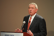 "Dan Rather speaks about ""Admist the smoke and chaos: Covering the story"" during Journalism Week at the University of Mississippi on Wednesday, April 13, 2010. Rather recounted covering the riots during the integration of Ole Miss."