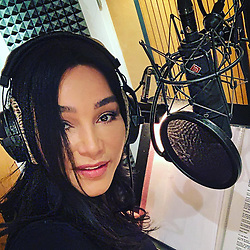 """Verona Pooth releases a photo on Instagram with the following caption: """"Hallo ihr Lieben, ich bin gerade im Tonstudio in Berlin \ud83c\udfa7 und nehme Radiospots \ud83d\udcfb\ud83c\udfb6f\u00fcr mein neues Buch \ud83d\udcd5auf...am 25.2. ist es soweit,ich bin sooo gespannt auf Euer Feedback \ud83d\ude03\u270c\ud83c\udffdes ist meine erste Autobiografie \ud83d\ude4c\ud83c\udffd"""". Photo Credit: Instagram *** No USA Distribution *** For Editorial Use Only *** Not to be Published in Books or Photo Books ***  Please note: Fees charged by the agency are for the agency's services only, and do not, nor are they intended to, convey to the user any ownership of Copyright or License in the material. The agency does not claim any ownership including but not limited to Copyright or License in the attached material. By publishing this material you expressly agree to indemnify and to hold the agency and its directors, shareholders and employees harmless from any loss, claims, damages, demands, expenses (including legal fees), or any causes of action or allegation against the agency arising out of or connected in any way with publication of the material."""