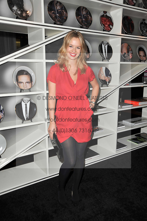 MARISSA HERMER at a party to celebrate the 15th birthday of Vogue.com held at W Hotel, Leicester Square, London W1 on 17th February 2011.