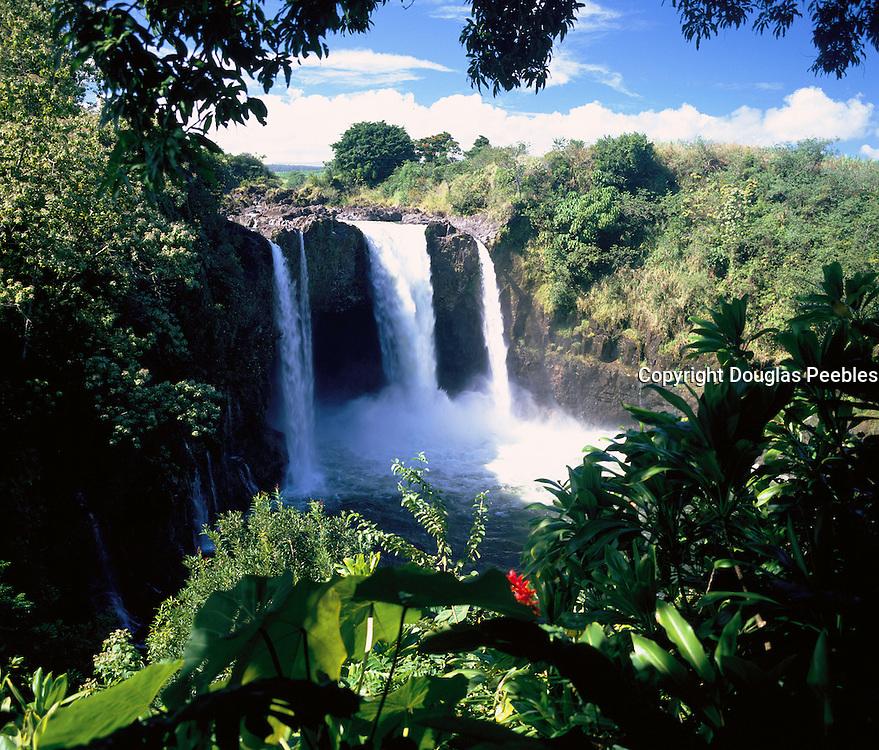 Rainbow Falls, Hilo, Island of Hawaii, Hawaii, USA<br />