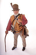 Ed Lunderman, Alamo historian and re-enactor.