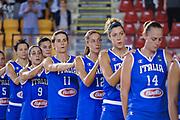 DESCRIZIONE : Roma Amichevole Nazionale Femminile Italia USA<br /> GIOCATORE : Raffaella Masciadri<br /> CATEGORIA : pregame team inno<br /> SQUADRA : Italia<br /> EVENTO : Amichevole Nazionale Italiana Femminile<br /> GARA : Italia USA<br /> DATA : 08/10/2015<br /> SPORT : Pallacanestro <br /> AUTORE : Agenzia Ciamillo-Castoria/G.Masi<br /> Galleria : Nazionale<br /> Fotonotizia : Roma Nazionale Femminile Amichevole Italia USA