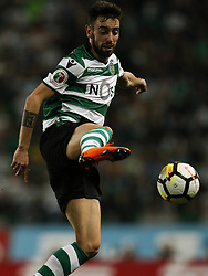 April 18, 2018 - Lisbon, Portugal - Sporting's midfielder Bruno Fernandes in action during Portuguese Cup 2017/18 match between Sporting CP vs FC Porto, in Lisbon, on April 18, 2018. (Credit Image: © Carlos Palma/NurPhoto via ZUMA Press)