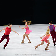 Ice Dance International performing Flight, Choreographed by Douglas Webster, in Dover, NH, March 2020
